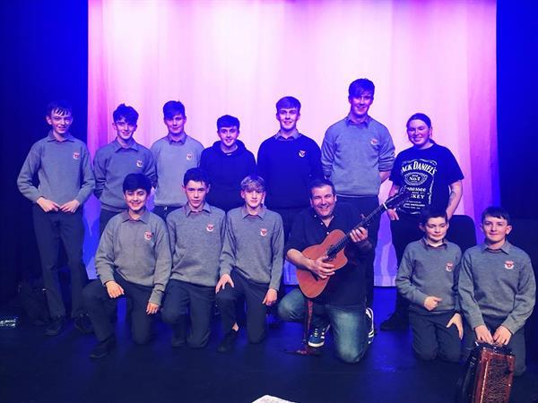 Trad Group perform in Birr Arts Theatre