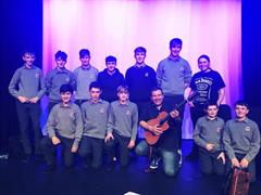 Trad Group perform in Birr Arts Theatre