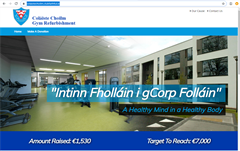 Coláiste Choilm Gym Refurbishment